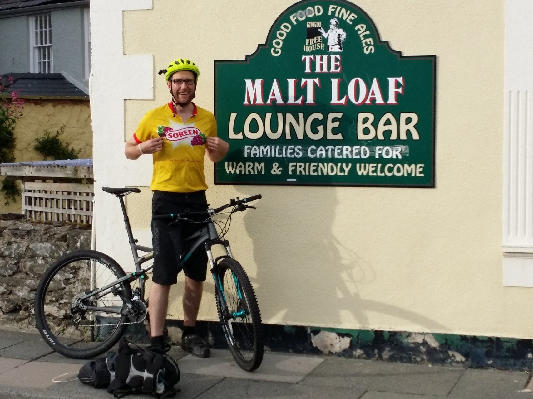 Day 0 - Arriving in Conwy ... possible Malt Loaf sponsorship opportunity...