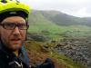 Day 2 - Jon above Cwm Penmachno toward the Manod Mawr quarries
