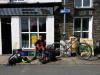 Day 3 - Paul at village shop in Bryncrug