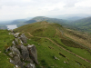 Day 7 - On slopes of Cefn y Ystrad looking toward Talybont reservoir