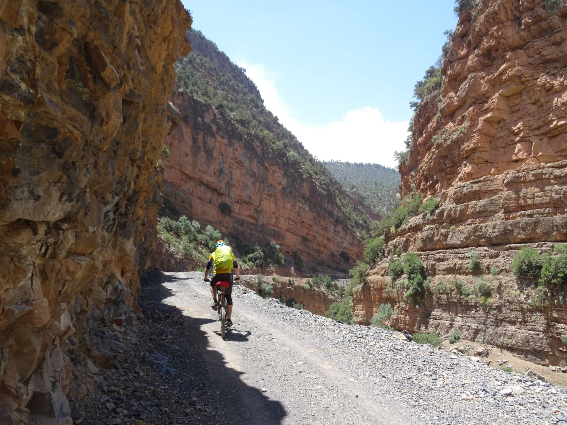 Day 2 - What a place! The Assif Melloul gorge continues. © Steve Woodward
