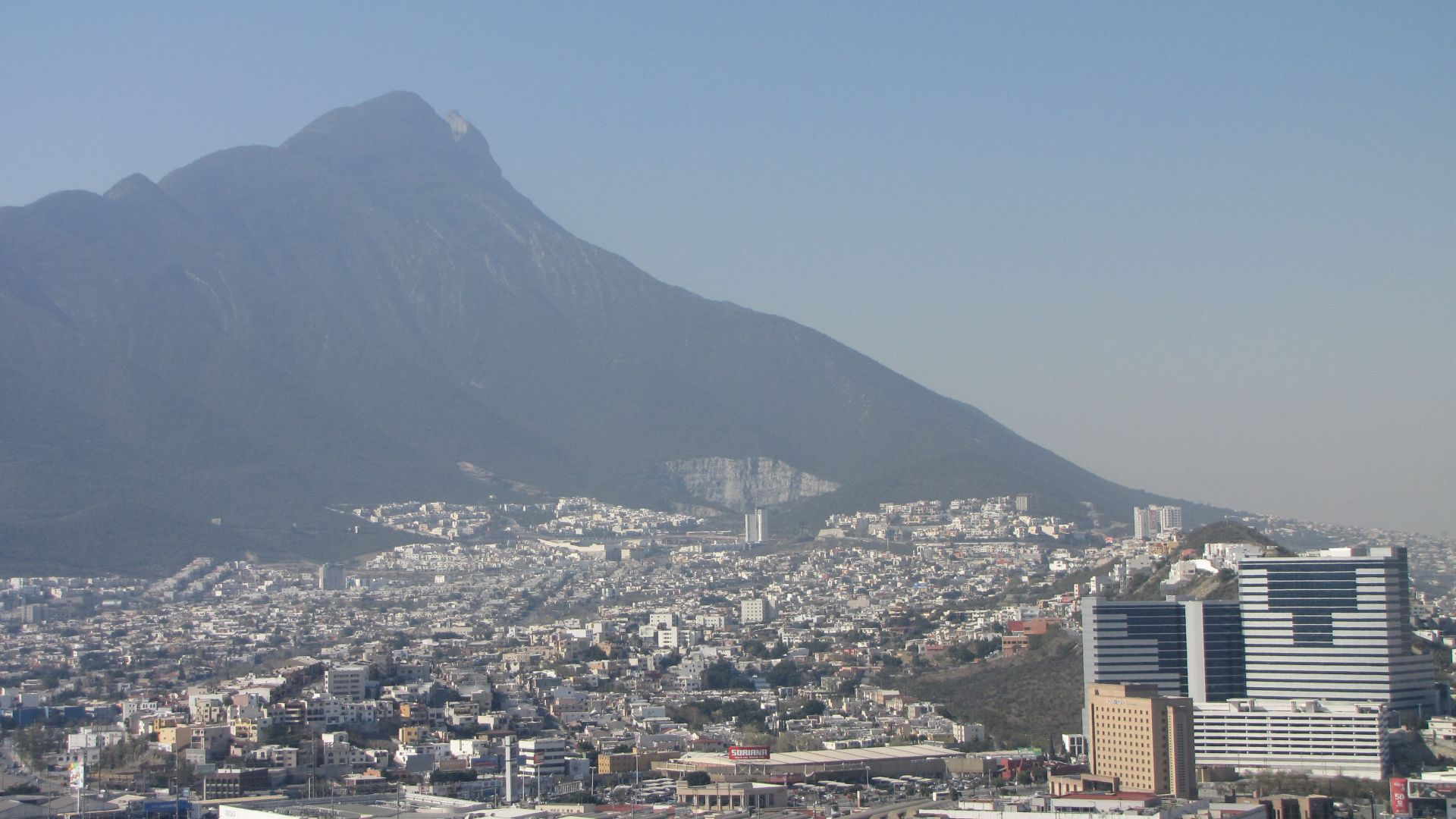 Monterrey, NL, Mexico - the city in its impressive setting