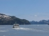 Seward Glacier Cruise - we scare a rival boat away with our horde of gin