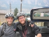 Nr Boulder, CO, USA - Just about to set out Mountain Biking with Ethan & Jeff (yes, I know, I was meant to be having a rest from the biking!)