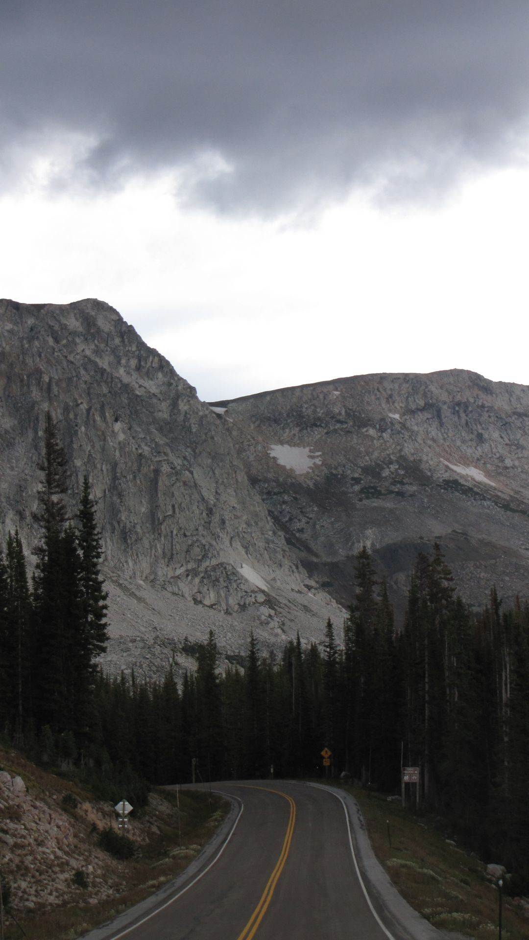 Snowy Mt Pass, WY, USA - 10,847 ft & just incredibly hard with hypoxia & frequent \'pauses\' near the top but wow was it worth it to see, this
