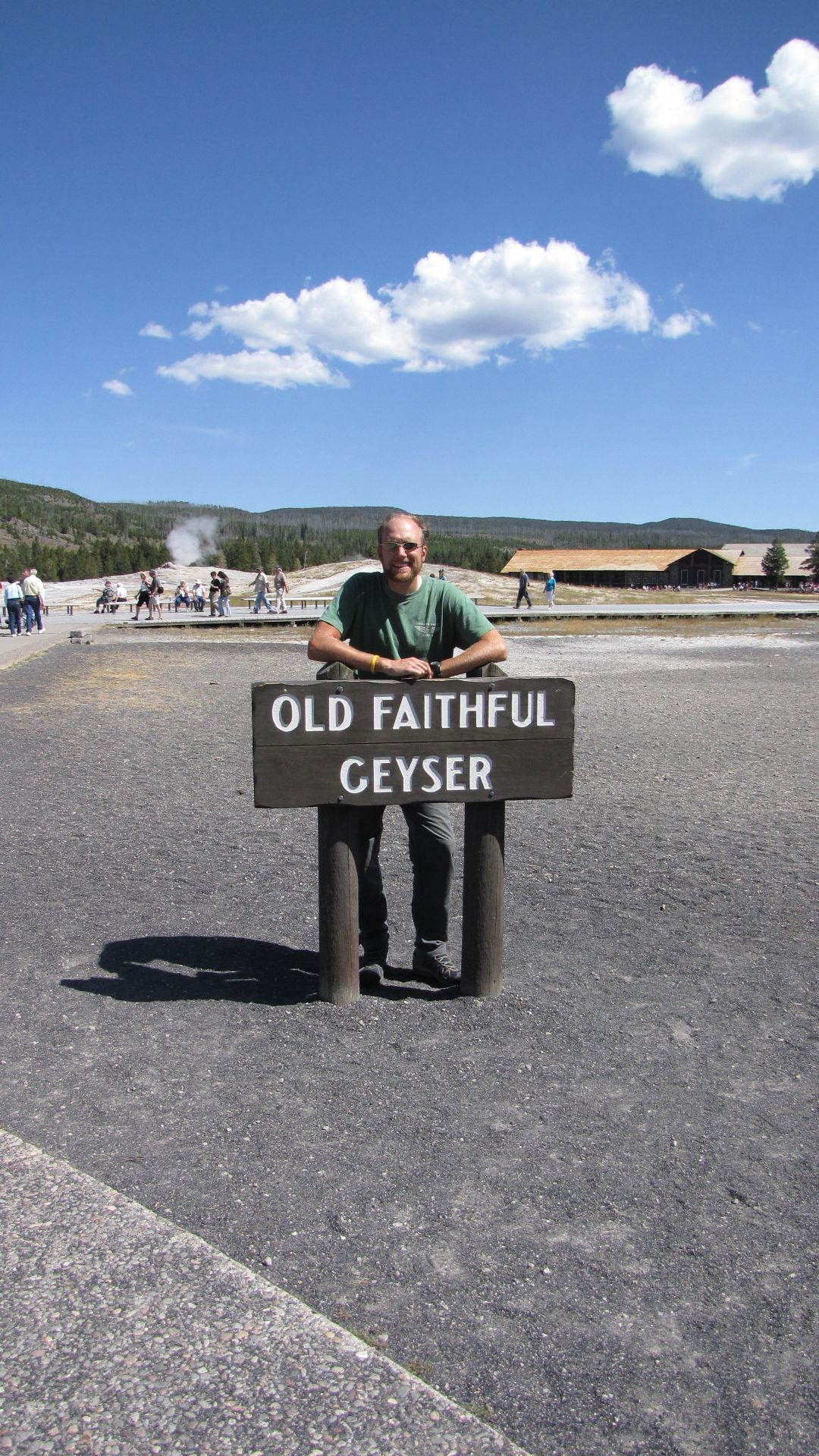 Yellowstone Nat Pk, WY, USA - Ey! Not so much of the \'geyser\' thank you!