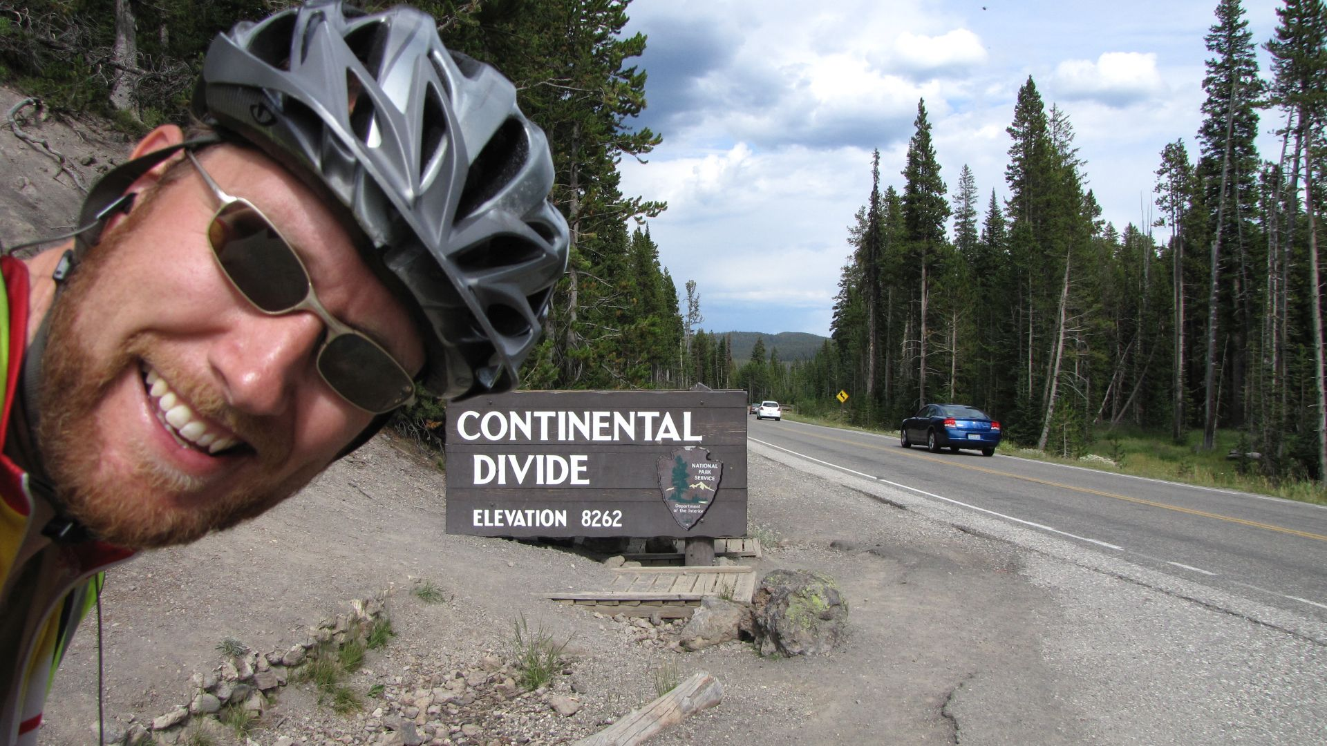 Yellowstone Nat Pk, WY, USA - Continental Divide crossing no. 5 (1st of 2 that day!)