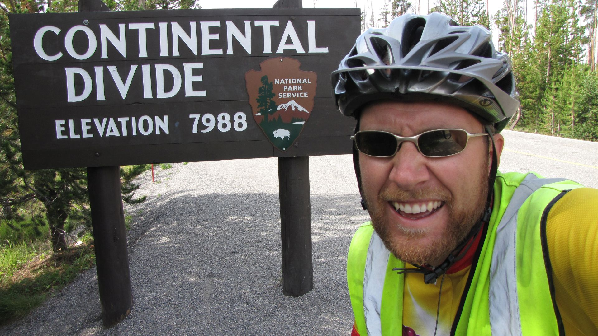 Yellowstone Nat Pk, WY, USA - Continental Divide crossing no. 7 (3rd of 3 in last 2 days!)