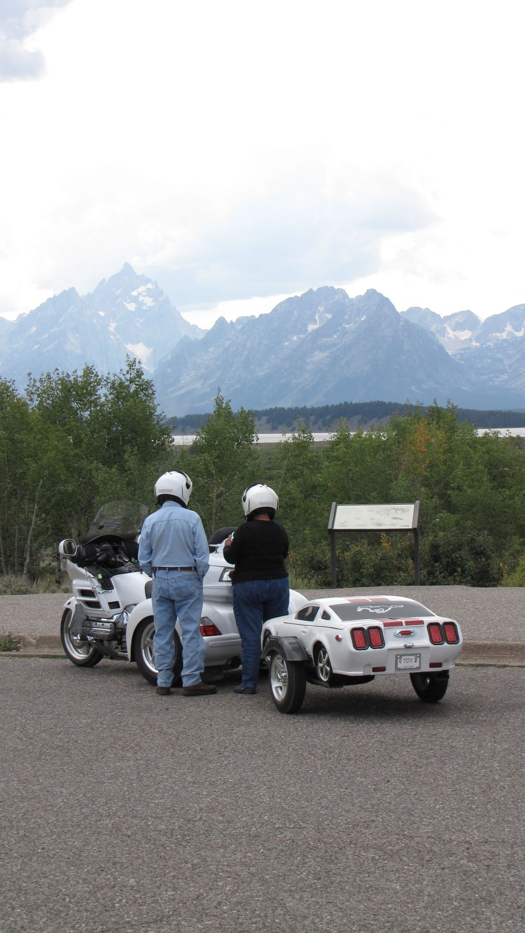 Grand Teton Nat Pk, WY, USA - I want one styled like and RV to tow behind my bike ;)