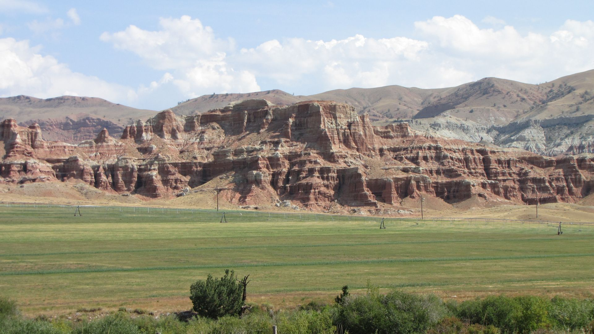 Nr Dubois, WY, USA - On the look-out for \'hoodoos\'...