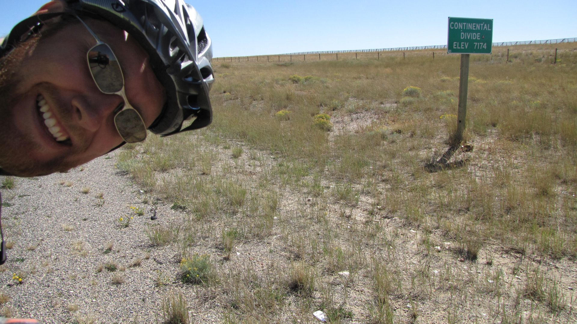 Great Divide Basin, WY, USA - Continental Divide crossing no. 10 (2nd that day!)