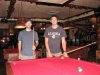 Jackson, WY, USA - John & Justin in the \'Million Dollar Cowboy Bar\' getting ready for the serious business of \'no money changed hands Sheriff\' pool ;)