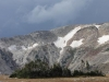 Snowy Mt Pass, WY, USA - Thunderstorm brewing, later I find myself racing through squalls to get down!