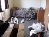 Prudhoe Bay, hotel room -  Have I remembered all the bits of the bike?  Can I rebuild him...?