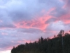 Fort Nelson, BC, Canada - Red sky at night...etc...no shepherds in area however so theory remains untested