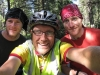 Swan Lake, Montana, USA - Martyn & Andrew, riding the Continental Divide off-road for Cancer Research.  Go guys!