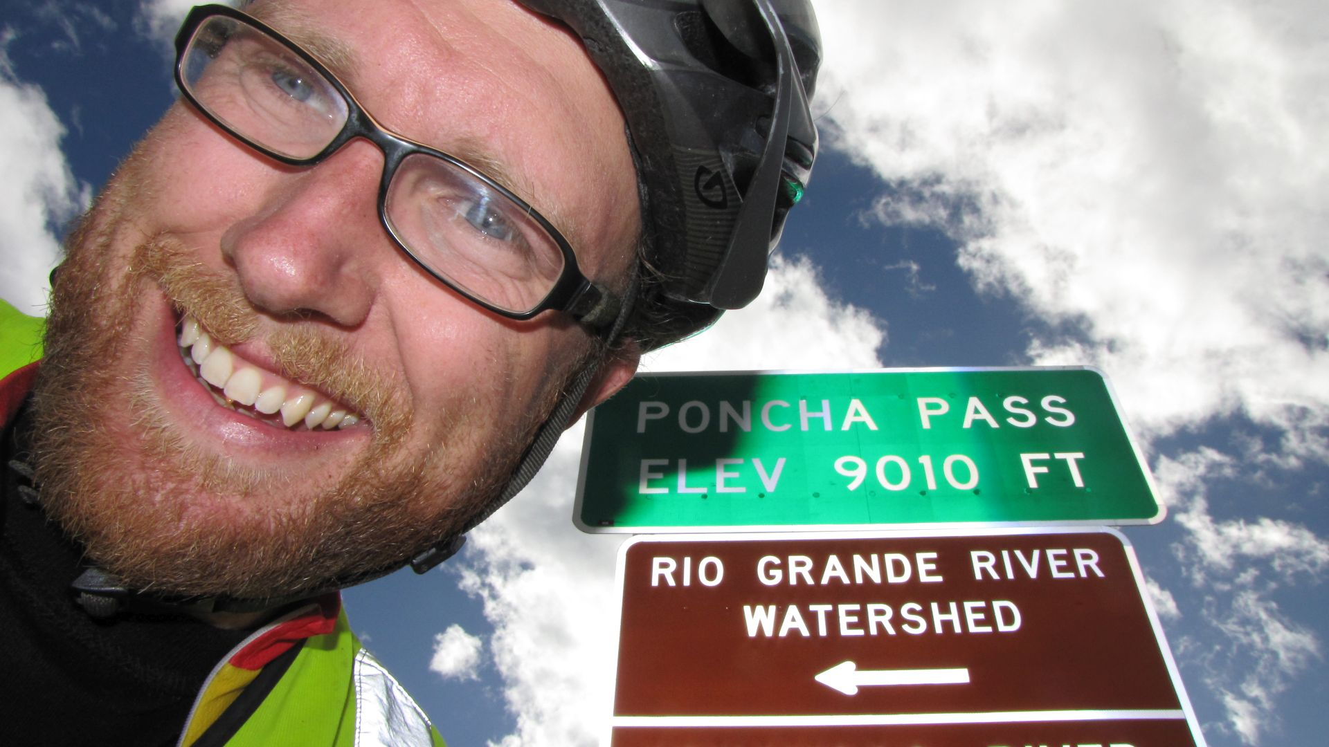 Poncha Pass, CO, USA - the watershed of the might Rio Grande