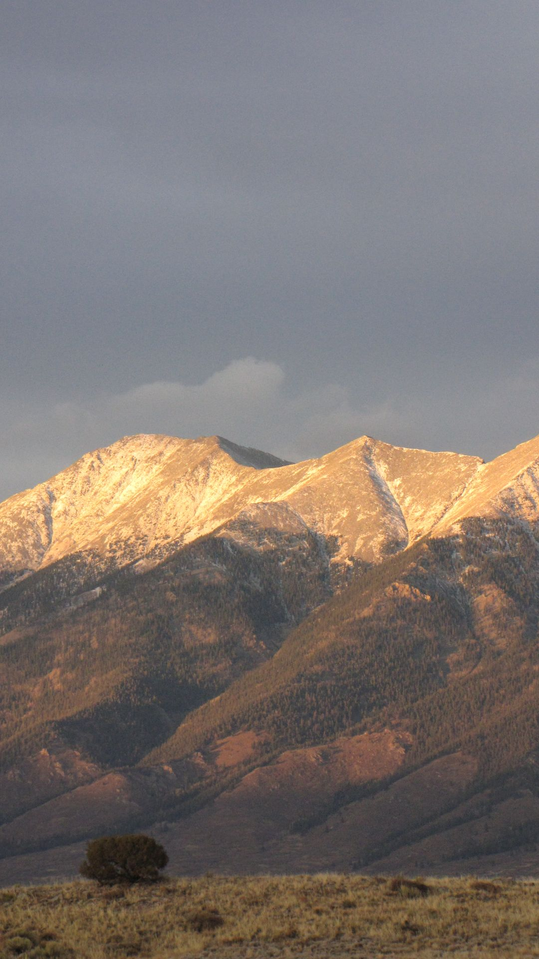 Villa Grove, CO, USA - Alpenglow abounds
