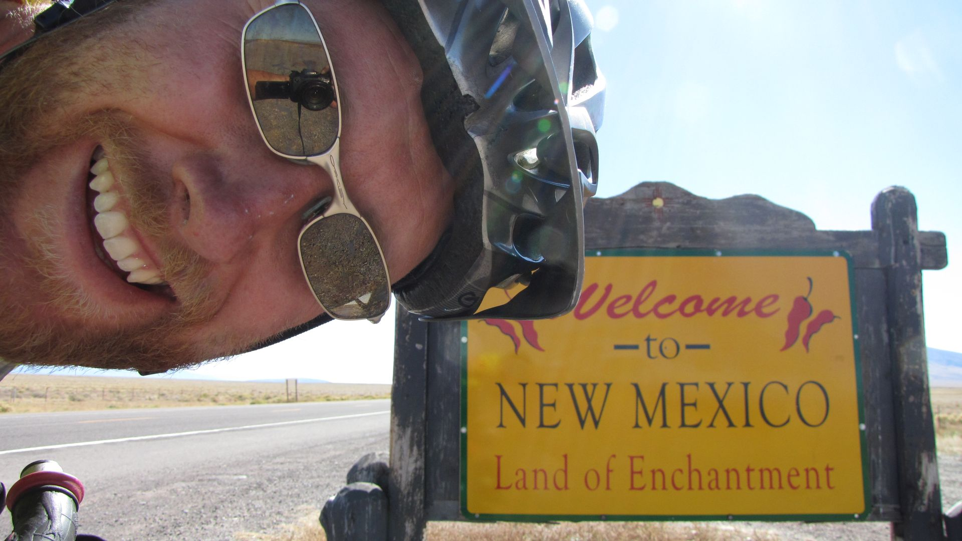CO-NM border, USA - Gbye Colorado! Part of a ~100 mile day to push away from bad weather in Rockies