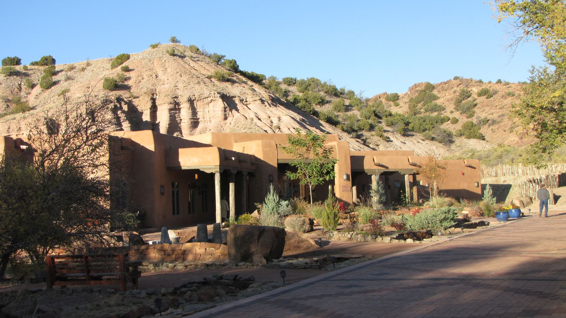 Ojo Caliente, NM, USA - plush plush hot springs resort (50% discount as I was camping so I had to try it!)