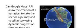 MSc Dissertation 'Google Maps Journey Immersion' Initial Presentation