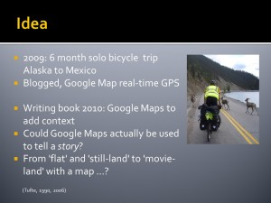 'Google Maps Journey Immersion' GISRUK 2013 Conference Paper & Presentation