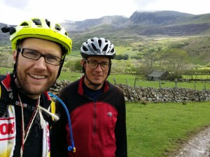 Day 3 - Jon & Paul below Cadair Idris massif